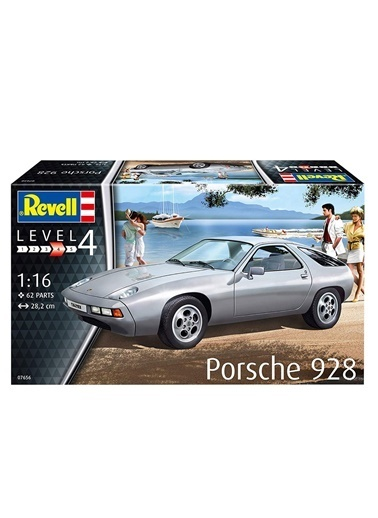 Revell  Maket Porsche 928 07656 Renkli